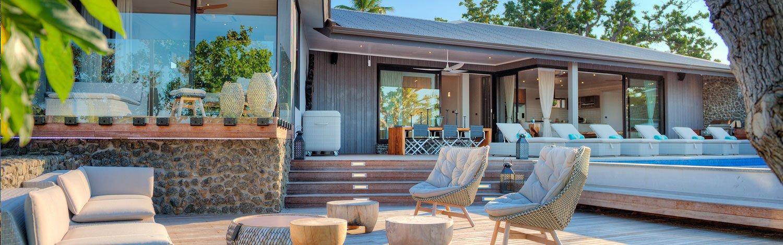 Vomo Island Fiji Luxury Resort Accommodation The Residences The Beachouse