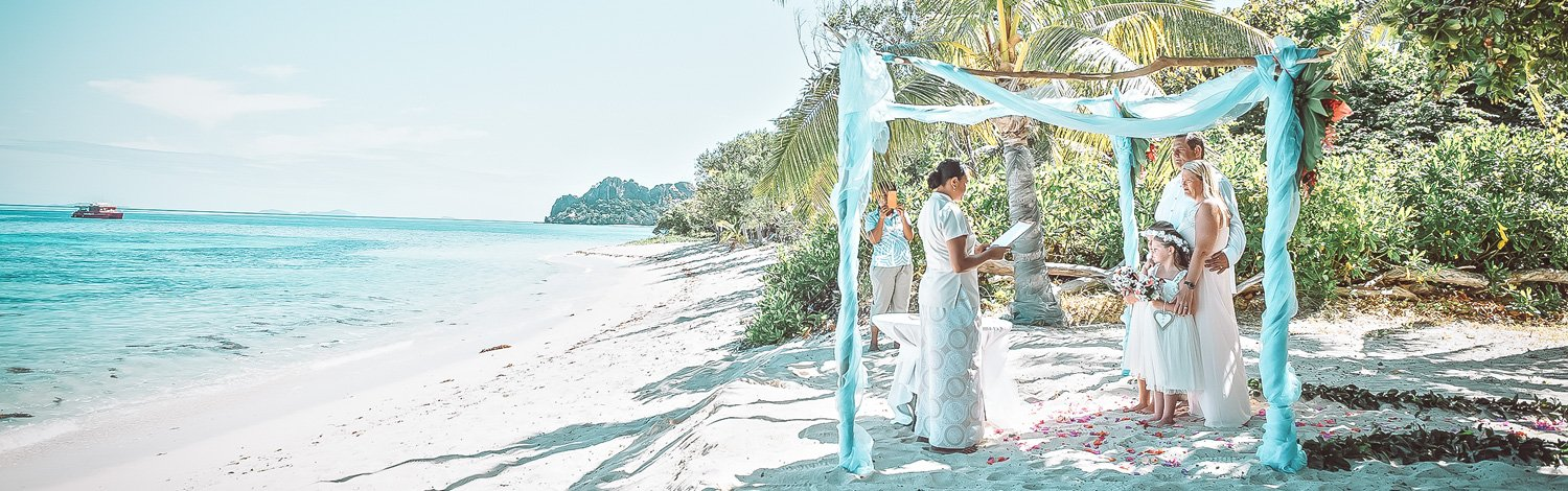 Renewal Of Vows On Vomo Island Fiji