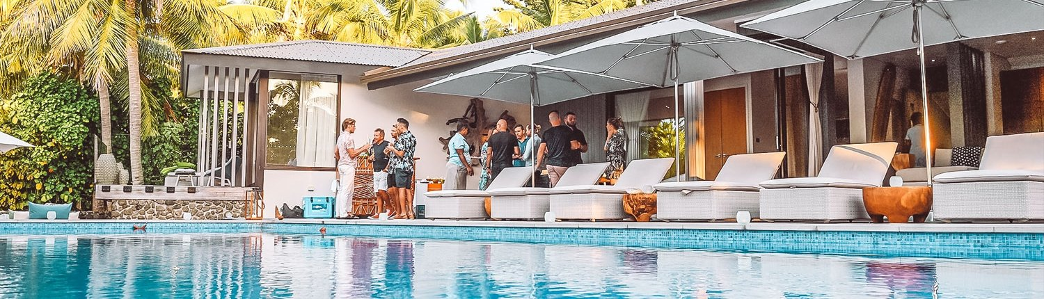 Private Dining And Party At Vomo Residence The Beachouse Fiji Special Occasions