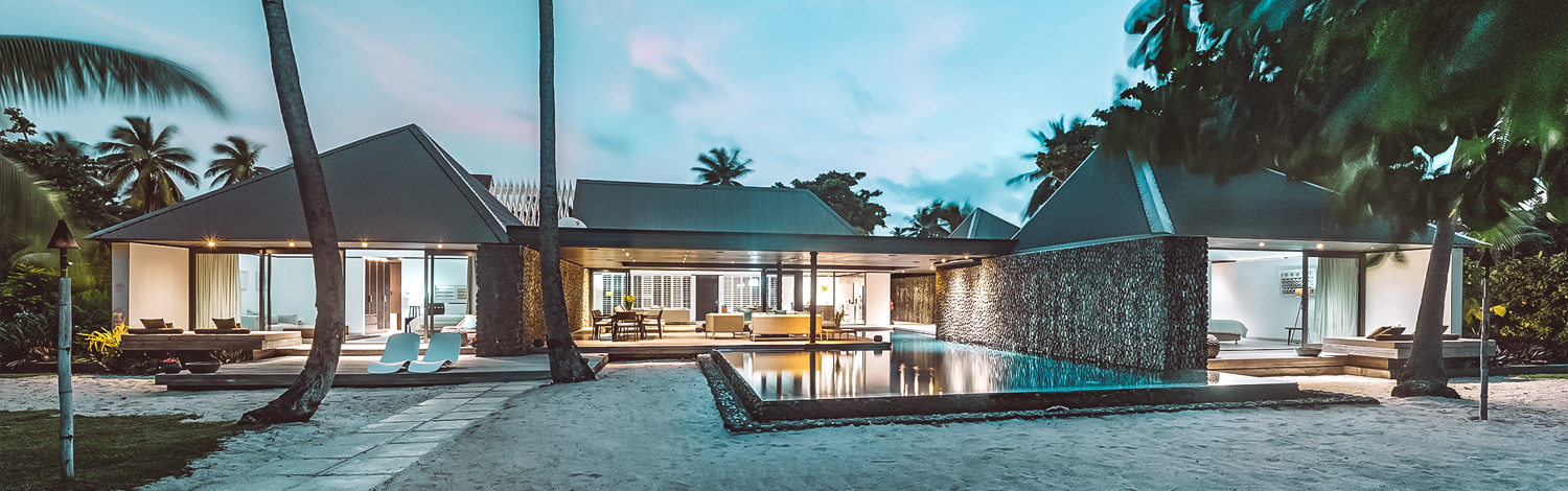 The palms residence holiday house on vomo exterior image