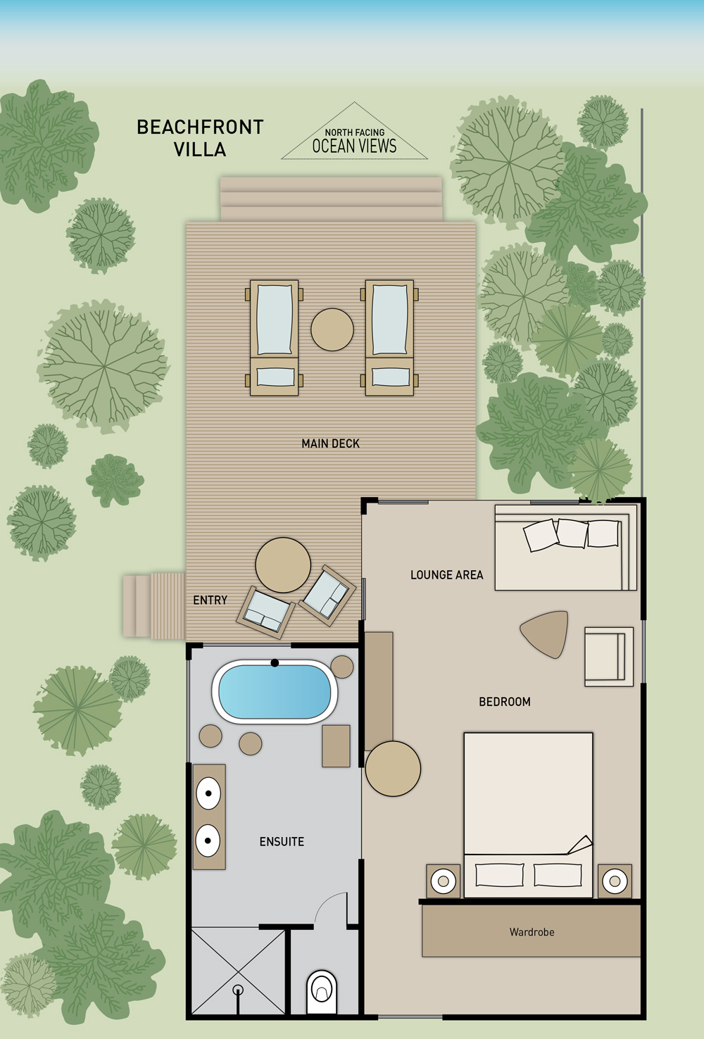 Beachfront Villas & Havens - Floor Plan