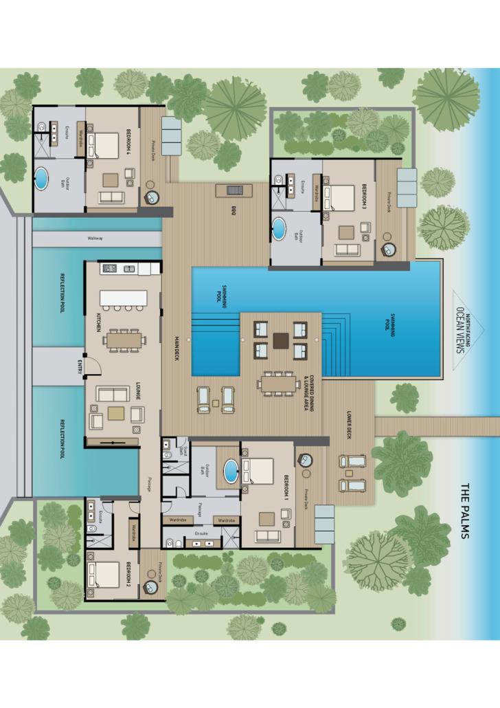 The Palms - Floor Plan