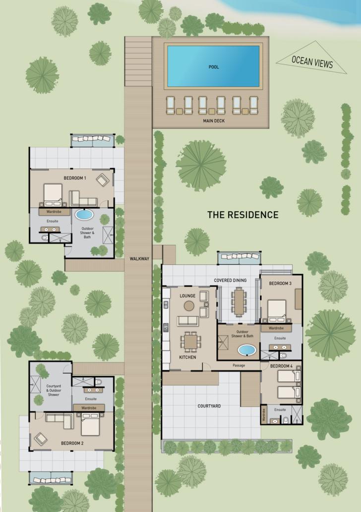 The Residence - Floor Plan