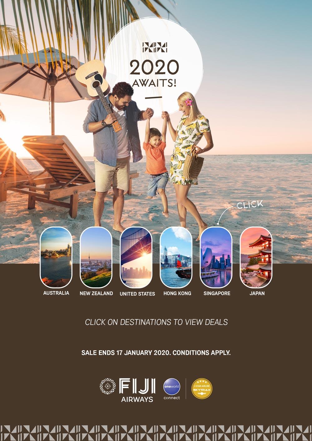 2020 Fiji Airways Sale