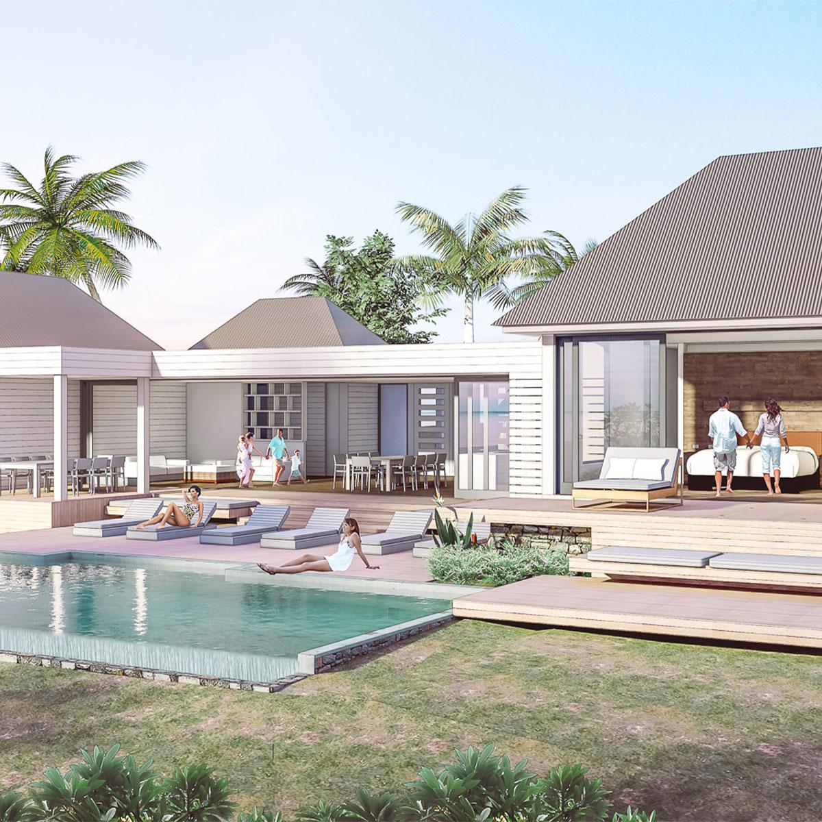 Talei taki all inclusive holiday residence vomo island fiji