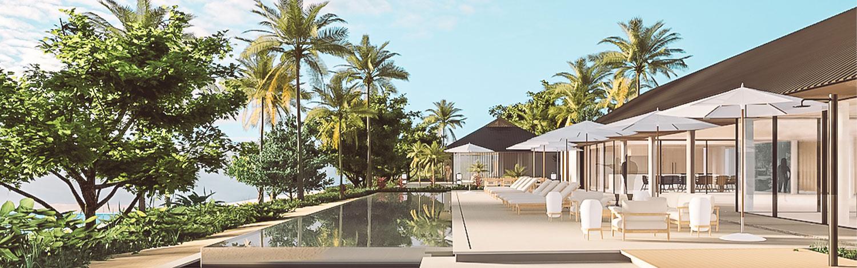 Vomo residences fiji the reef house pool area