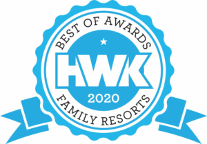 Hwk best of awards family resorts logo